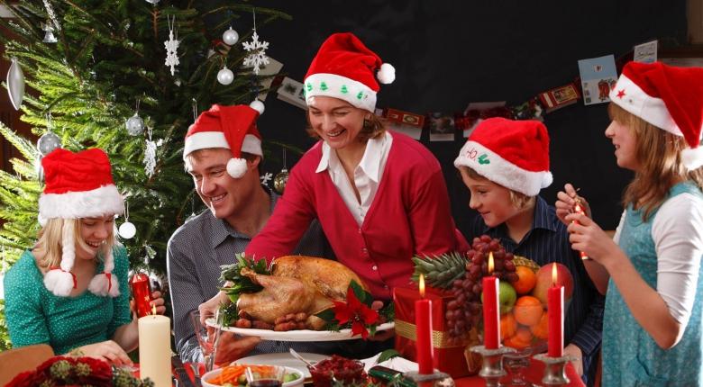 Как не объедаться на Новогодние праздники?